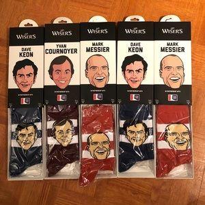 Limited edition hockey player socks